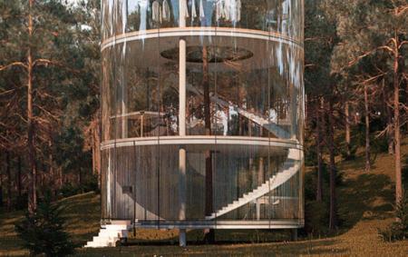 森林玻璃屋-内容详情-玩意儿
