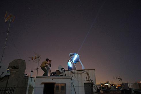 球形透镜太阳能发电系统