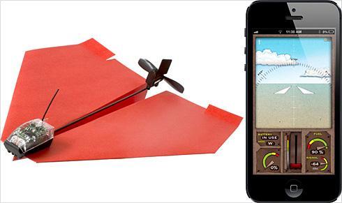 PowerUp 3.0手机遥控电动纸飞机-产品描述-玩意儿