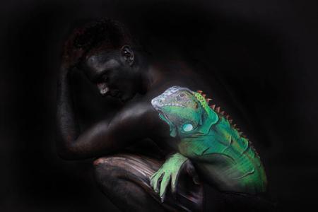 唯美人体彩绘艺术-产品描述-玩意儿