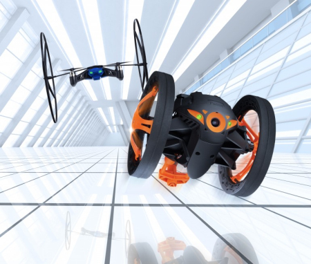 Parrot公司超级玩具—无人机与跳跳车
