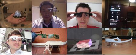 增强现实感眼镜-内容详情-玩意儿