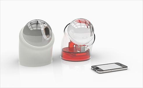 球形透镜太阳能充电器—Beta.ey