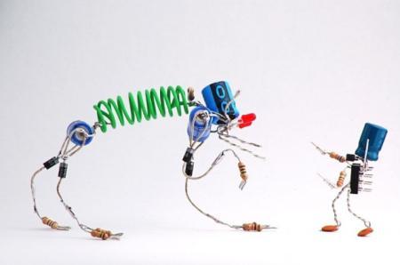 生动的元器件小人-产品详情-玩意儿