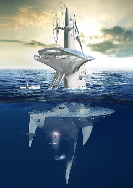 SeaOrbiter-海洋空间站即将动工-产品详情-玩意儿