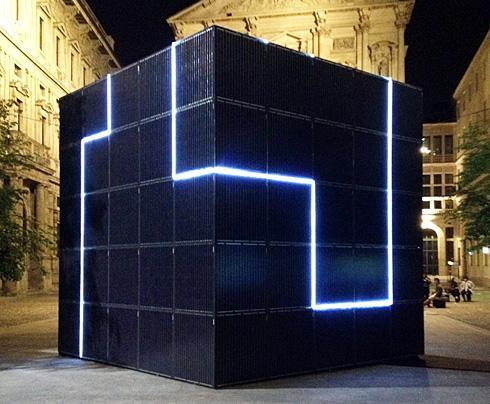 意大利街头的太阳能热点方块-产品描述-玩意儿