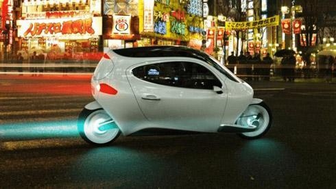 胶囊式未来电动车