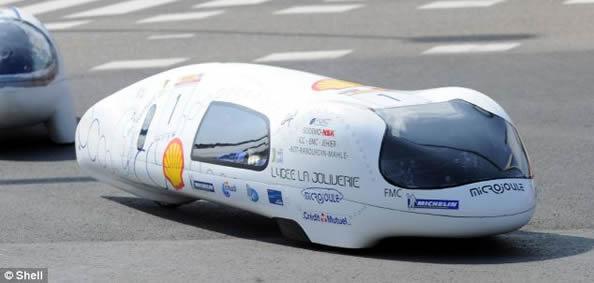 世界上最省油的汽车 绕地球一周只需26美元