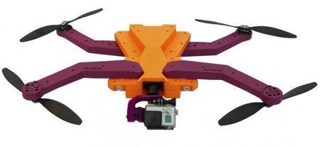 自动跟踪拍摄的小型无人机