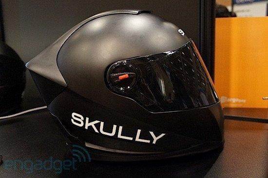 智能摩托车头盔