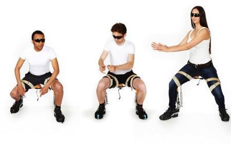 实用的外骨骼座椅