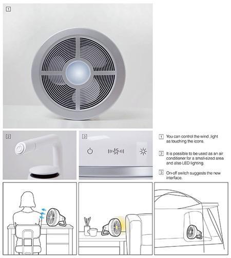 带制冷片的小风扇