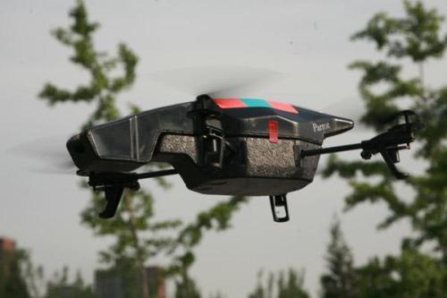 四旋翼飞行器 parrot ar.drone2