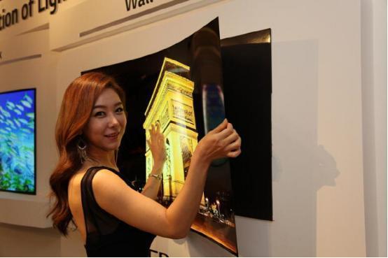 "LG超薄""壁纸""电视 厚度1mm"