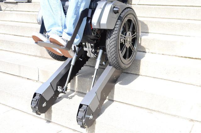 可以爬楼梯的轮椅