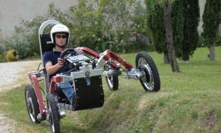 电动四驱越野车 Swincar E-Spider