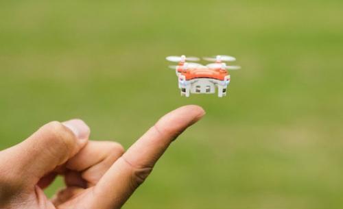 全球最小四旋翼遥控飞机