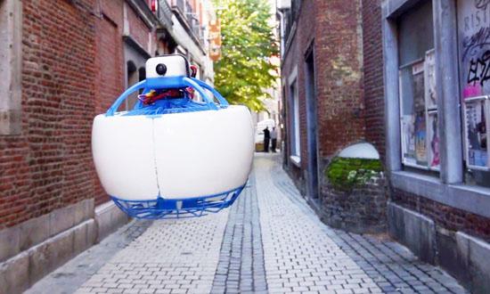 Fleye智能飞行机器人