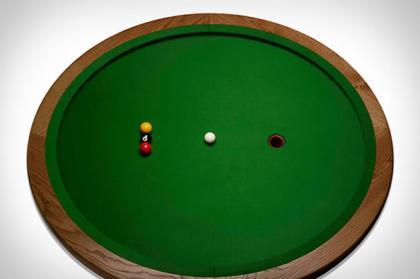 圆形台球桌