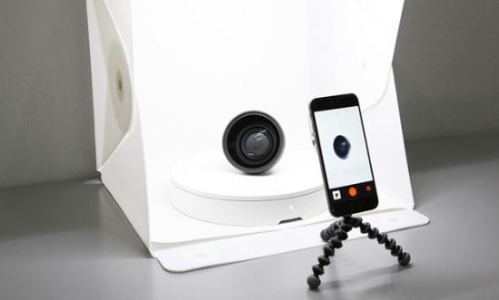 Foldio360 轻松实现360度无死角拍摄