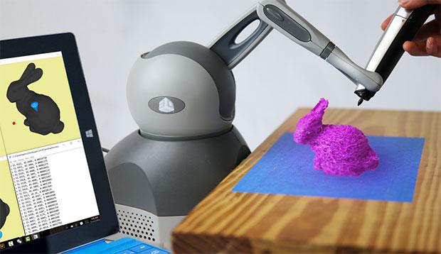 Guided Hand机械臂引导你轻松完成3D打印笔模型
