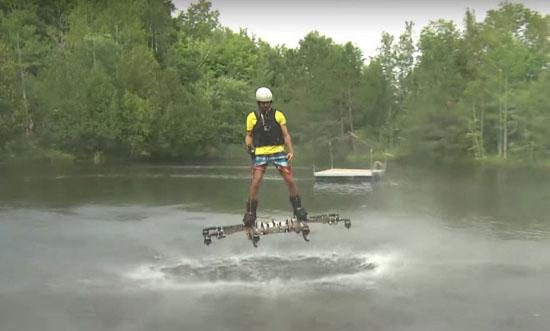 Omni Hoverboards 风力飞行滑板