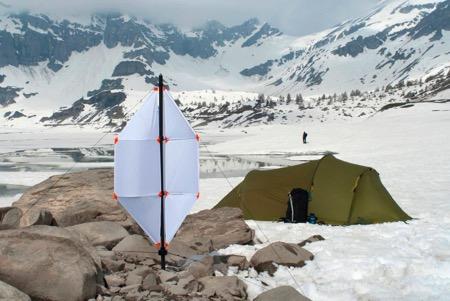 便携微型风力发电装置 野外活动必备