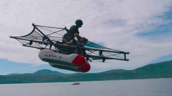 飞行车Kitty Hawk Flyer将在年底开售