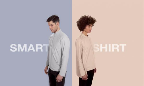 10ELEVEN9智能衬衫 带数字纽扣和摄像头