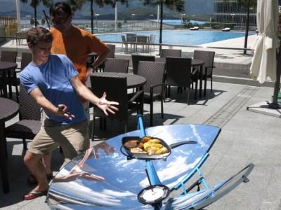 SolSource太阳能灶 户外做饭的神器