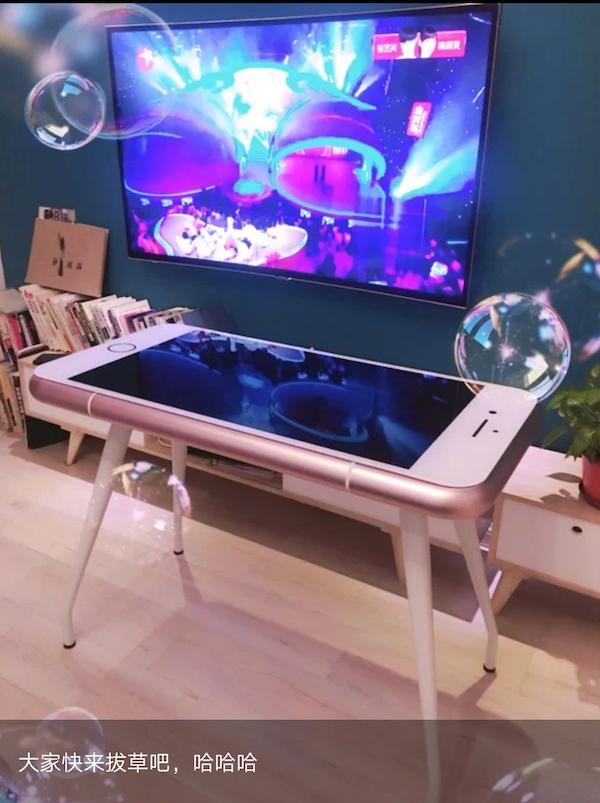 iphone桌子8