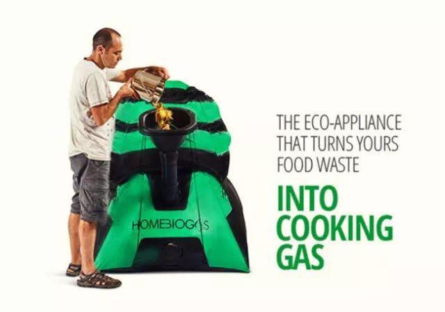 HomeBiogas2家用沼气池,厨余垃圾变沼气
