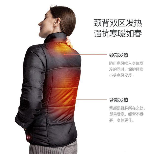 Flexwarm自发热外套 冬天抗冷神器