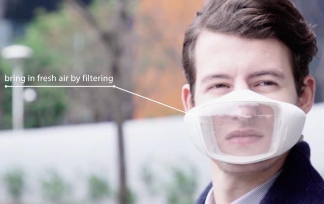 Breaze高科技口罩,抗雾霾和装B神器-创意网