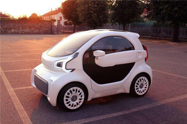 用玉米制造的3D打印电动汽车 ,3天完成只卖6万