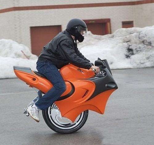 变形电动摩托车4