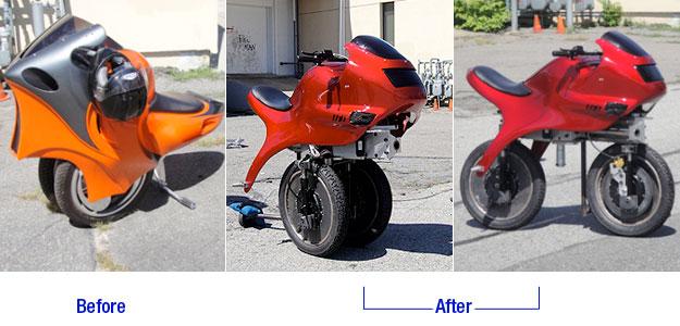 变形电动摩托车1