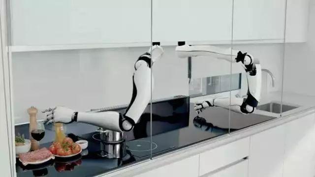 Moley智能厨房系统,机械手帮你煮饭洗碗