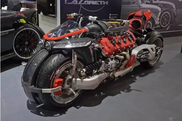 玛莎拉蒂v8引擎摩托车,全球仅10台470匹马力-创