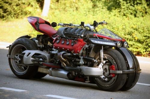 玛莎拉蒂v8引擎摩托车,全球仅10台470匹马力