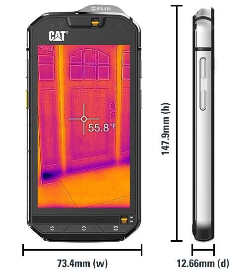 Cat S60有了这个夜视手机,黑夜里什么都能看得一