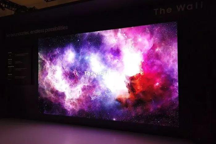 三星219英寸巨屏大电视The Wall,模块化设计可拼接