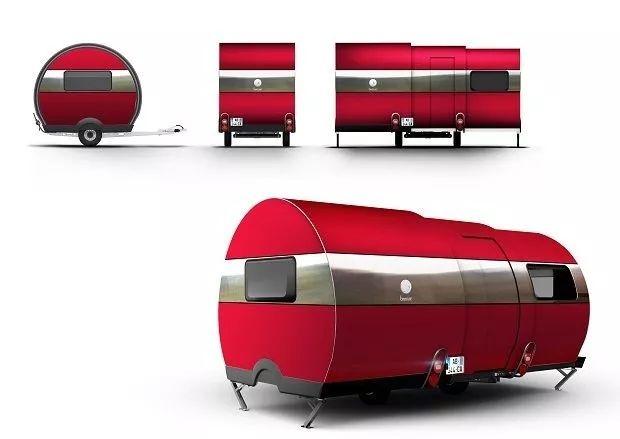 法国房车公司推出可伸缩微型房车BeauEr 3X,只售20多万
