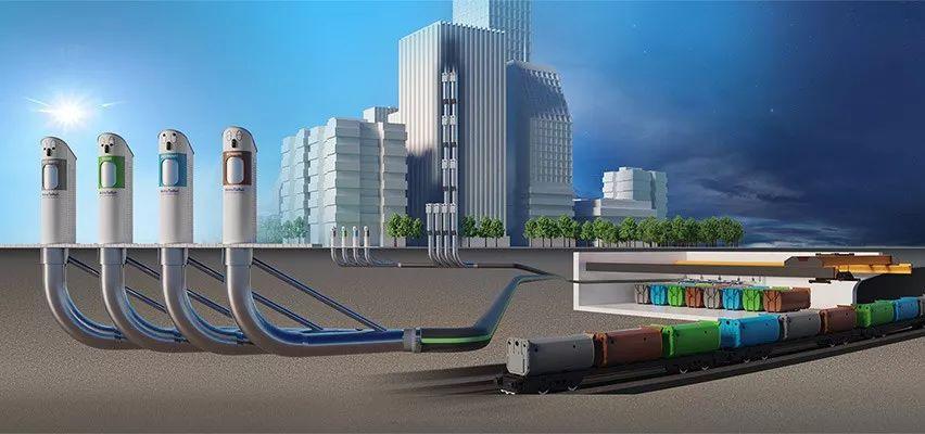 MetroTaifun 一个永远装不满的高科技垃圾桶-创意