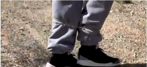 美警察测试套索枪,可像蜘蛛侠一样精准地将目