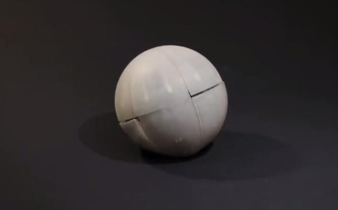 MorpHex能滚能爬的六足球型机器人,-创意网