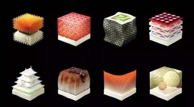 这个寿司店在吃前需体检,寿司还是3D打印出来-