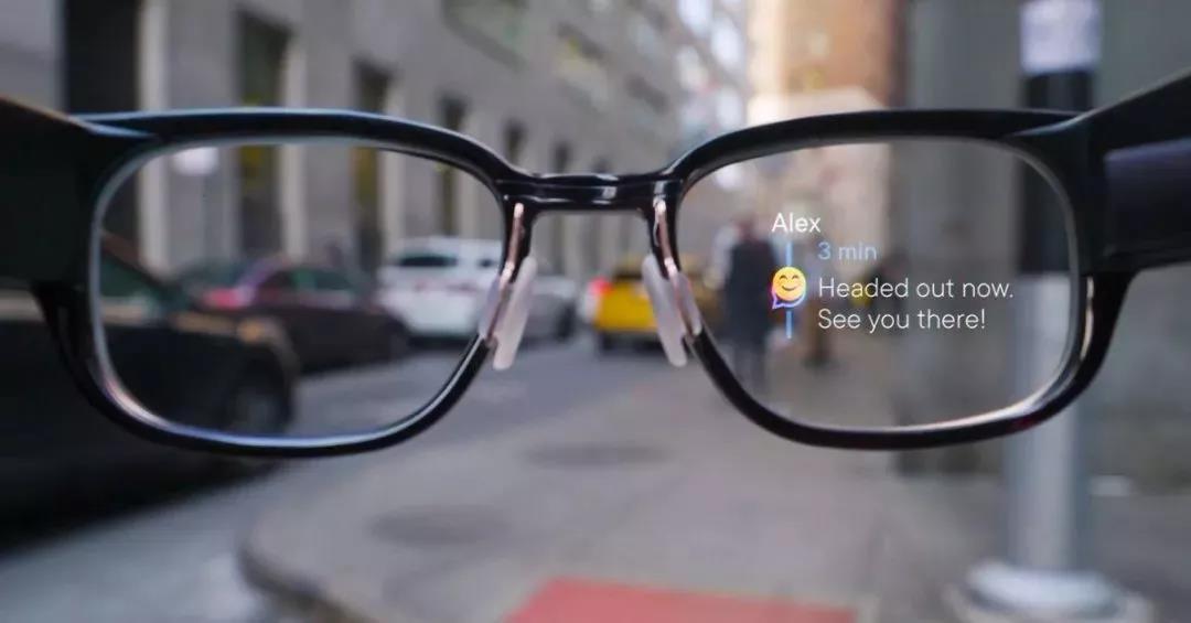 AR智能近视眼镜,导航、接电话、回信息等一样不少