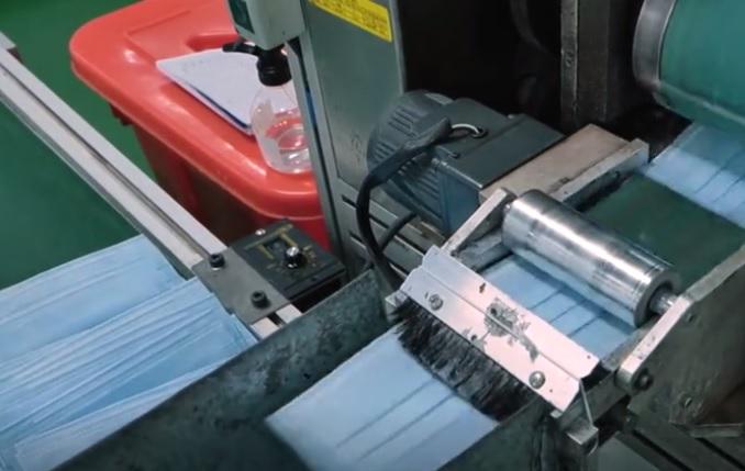 广州企业研发超高速全自动口罩生产线,一分钟1000片!