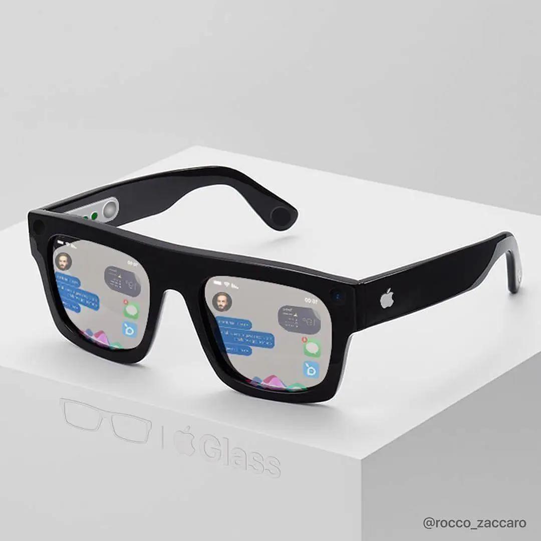 网传苹果也将推出智能眼镜